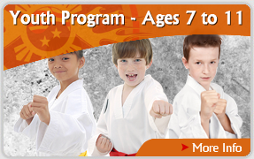 Martial Arts International - Ages 7-11 Youth Program