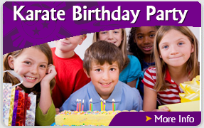 Martial Arts International - Karate Birthday Party